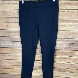 Sanctuary Large Legging Style Pull On Pants Blue